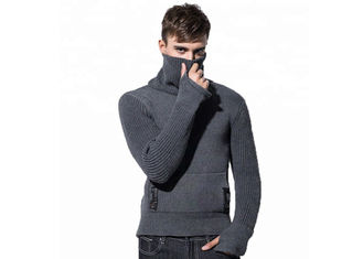 Thick Turtleneck Europe Long Sleeve 5 Gauge Mens Fall Catton Pullover Sweater