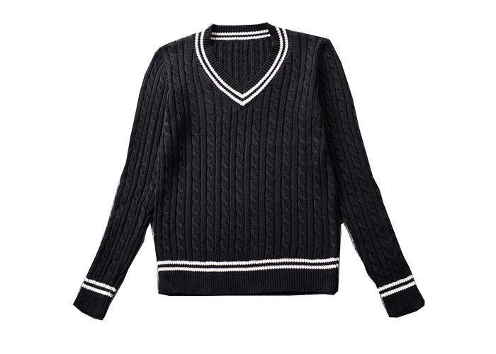 Customize European Style Knitted Kids School Uniform